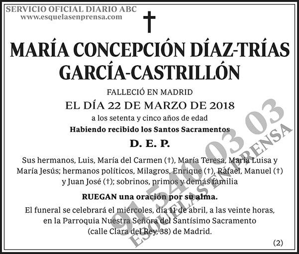 María Concepción Díaz-Trías García-Castrillón